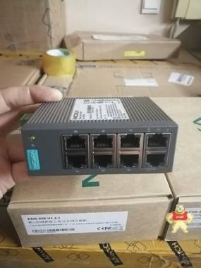 MOXA摩莎 EDS-208工业级非网管以太网交换机 EDS-208,EDS-208A,MOXA交换机,MOXA,工业交换机