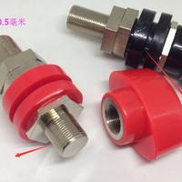 JXZ-5 M16*85接线柱全铜螺杆16mm/500-600A大电流端子4mm插座