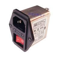 带开关插座三合一滤波器10A 220V带指示灯CW2B-10A-T