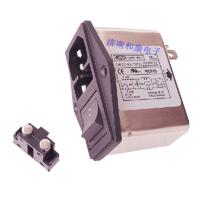 带开关插座保险管三合一滤波器6A医疗专用双保险CW2C-6A-T-F2