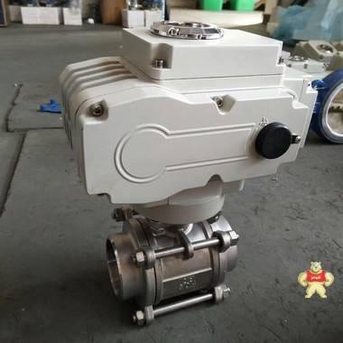 Q911F-16C DN50电动螺纹球阀 电动内螺纹球阀,内螺纹电动球阀,内螺纹电动球阀价格