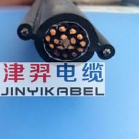 厂家直销 国标足方RVV2G双钢丝行车手柄电动葫芦电线电缆