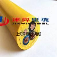 厂家直销 津羿牌垃圾厂专用防冻耐磨卷筒电缆 电缆起包解决方案