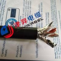 厂家供应 工业广播对讲通讯系统专用电缆CB-19 信号数据电缆