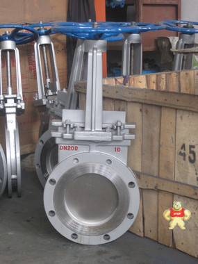 供应PZ73H-10C手动刀型闸阀 刀型闸阀,刀闸阀,薄型闸阀,插板阀,刀形闸阀