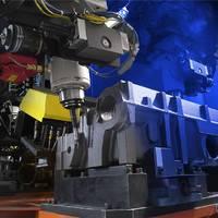 唐山市二手六关节点焊工业机器人搬家 塑胶产品打磨机器人 理想机器人