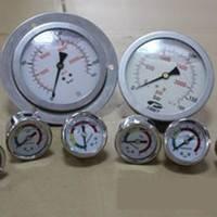 供应上海自动化仪表四厂YB-隔膜压力表 耐震压力表