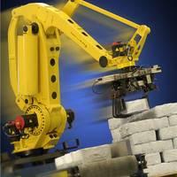 天津市非标点焊机器人搬迁 粮食码垛机器人 理想机器人