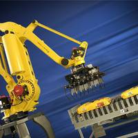 塘沽区二手大型点焊机器人改造 粮食码垛机器人 理想机器人