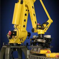 通州区二手智能化点焊机器人试教 低位码垛机器人 理想机器人