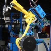 菏泽市二手点焊机器人价格 启天上下料 理想机器人