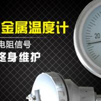 上海自仪三厂 带热电偶/热电阻远传双金属温度计 WSSP-483 4-20mA