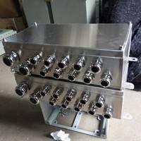 304不锈钢防爆接线箱  400*300*180   BJX防爆分线箱