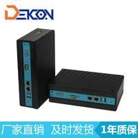 嵌入式无风扇工控机  双千兆网口 宽温工控主机 DEC-1538厂家直销