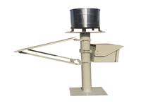 全自动雨量监测站一体化数字自动自记翻斗式遥测雨量站雨量计
