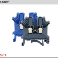 霍尼韦尔接线端子GK 3:通用型接线端子,额定截面积 2.5mm2,灰色