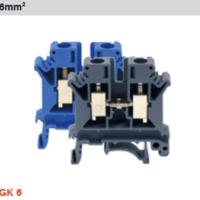 GK 系列通用型接线端子 GK 6:通用型接线端子,额定截面积 6mm2,灰色