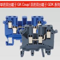 GDK 系列双进双出接线端子,GDK 4, 4mm2,灰色