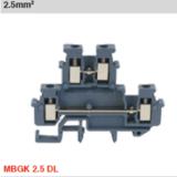 GK... DL 系列双层接线端子,MBGK 2.5 DL、GK 3 DL、GK 5 DL,灰色