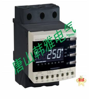 施耐德EOCR(原韩国三和)-数显经济型马达保护器EOCR3DM2-WRDUT 唐山韩雅电气设备有限公司 施耐德EOCR,电子式继电器,马达保护器,韩国三和SAMWHA,电动机保护器