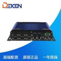 工控工厂家直销嵌入式无风扇工控机多串口工业电脑主机DEC-1095