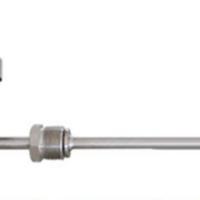 万向型双金属温度计WSS481探针式不锈钢表盘数显双金属温度