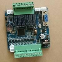 三菱PLC工控板国产14点单板式FX2N14MR-2AD-485模拟量温度