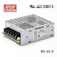 台湾明纬RS-35-3.3明纬电源23.1W/3.3V/7A单组输出明纬开关电源