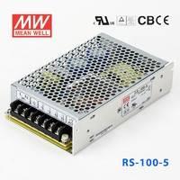 台湾明纬RS-100-24V明纬开关电源100W/24V/4.5A 耐震动型开关电源