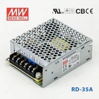 台湾明纬RD-35A明纬开关电源32W/5V4A/12V1A双组输出明纬开关电源