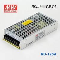 台湾明纬RD-125-2412开关电源130W/24V3.7A/12V3.7A双组输出