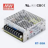 台湾明纬RT-50C开关电源5V/-15V/15V 三组直流输出工业设备驱动
