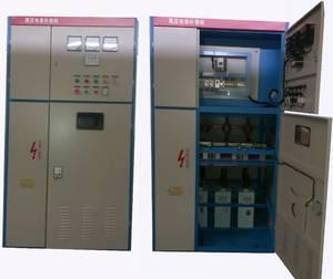 高壓電機就地電容補償柜