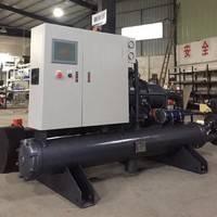 厂家直销QJ-60HP水冷螺杆式冷水机 水冷式冷冻机 低温冷冻机组 工业冷冻机厂家