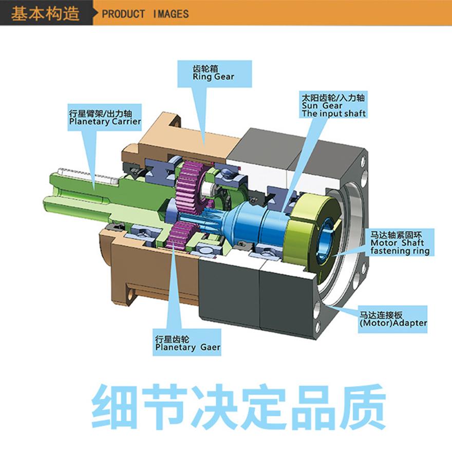 NB060伺服行星减速机 台湾诺宏NB060行星减速机