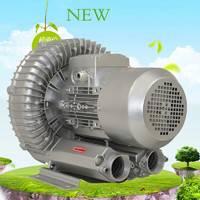 高压旋涡鼓风机强力工业漩涡式气泵环形全风涡流涡轮吸风机增氧机