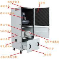 工业磨床集尘器5.5kw大型工业集尘器金属粉尘收集处理集尘机