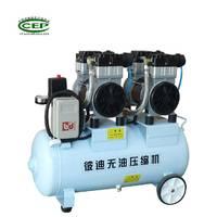 彼迪美式无油空压机 3.0KW气动阀门,实验室用静音无油空压机
