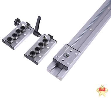 內置雙軸心直線導軌SGR10 15 20 25N滾輪滑塊滑軌木工機械鋁型材