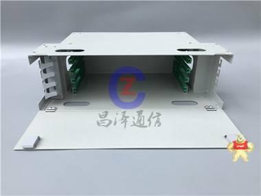 【昌泽通信主营】48芯ODF单元箱 加厚板材 喷塑后1.4mm ODF厂家,单元箱,ODU箱体,熔配单元箱,ODU熔配箱