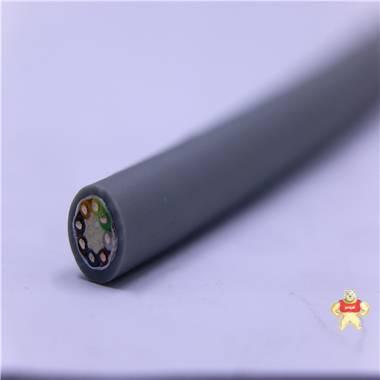 带屏蔽柔性拖链电缆 拖链电缆,防串音电缆,柔性电缆,屏蔽型拖链电缆,中度拖链电缆