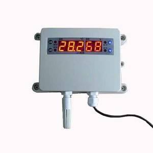 嘉智捷  溫濕度報警器 HA2120AHT-01智能 工業 數字傳感器 上下限報警 溫濕度監控 廠家直銷