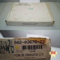 Giddings amp  Lewis PiC900  ser communication 502-03676-23