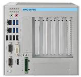 研华嵌入式无风扇工业电脑UNO-3075G 3PCI研华工控机