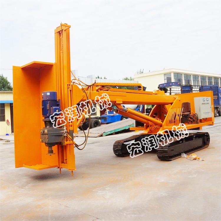 现货供应建筑基坑履带式锚固钻机 山体护坡钻孔机
