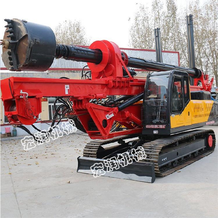 履带旋挖钻机 机锁杆履带旋挖钻机 定做大口径长螺旋地基打桩机