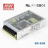RD-85B 85W +5V 8A +24V 3A 双路输出明纬开关电源(G3系列)