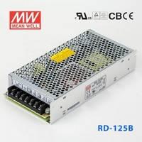 臺灣明緯電源RD-125NB 125W +5V 10A +24V 5A 0負載 雙路輸出明緯開關電源(G3系列)