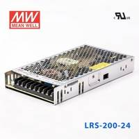 LRS-200-24 210W 24V8.8A 輸出(輸入電壓開關選擇型)明緯超薄高性能開關電源