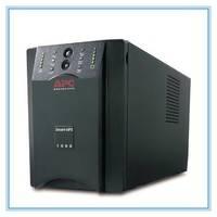 施耐德APCUPS电源SUA1000UXICH/1000VA/800W/长延时主机需外接蓄电池/APCUPS不间断电源